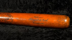The bat Babe Ruth used for his for 500th homer hits auction block