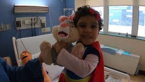 Toddler with leukemia in desperate need of bone marrow donor