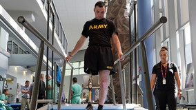 Soldier who amputated leg to save tank crew: 'It's the best thing that's ever happened to me'