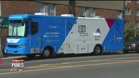 Mount Sinai mammography bus offers free breast cancer screenings to under-served communities