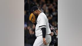 Sabathia dislocated shoulder, big league career over