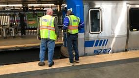 Minor derailment snarls PATH Train service