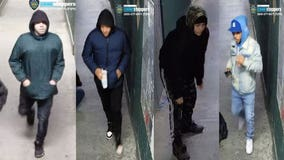 Police seeking 4 suspects in UWS attack and attempted robbery