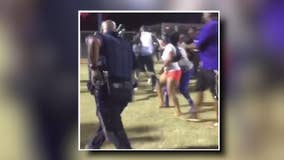 Teams banned from playoffs after High School Softball brawl