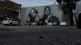 Fans visit new OutKast mural in Little Five Points