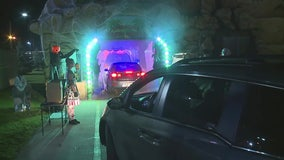 Haunted car wash spooks customers in Ohio
