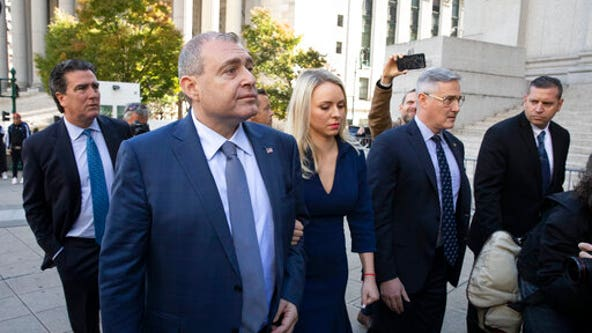 2 Giuliani associates plead not guilty in campaign-cash case