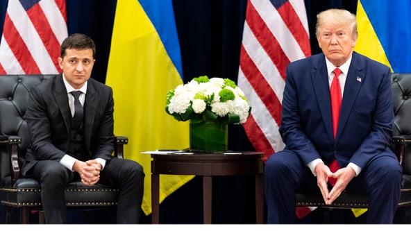 Ukraine president: 'No blackmail' in conversation with Trump