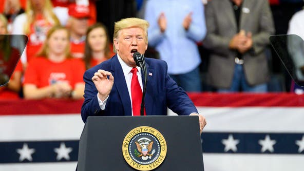 Trump rips Biden apart in rally; says he kissed Obama's backside