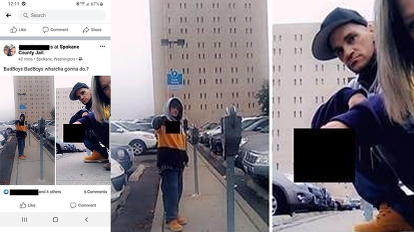 Man arrested after allegedly escaping work release, posting photos in front of jail on Facebook
