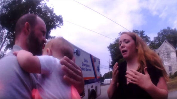 Bodycam captures South Carolina police officer helping 4-month-old infant choking on Tylenol