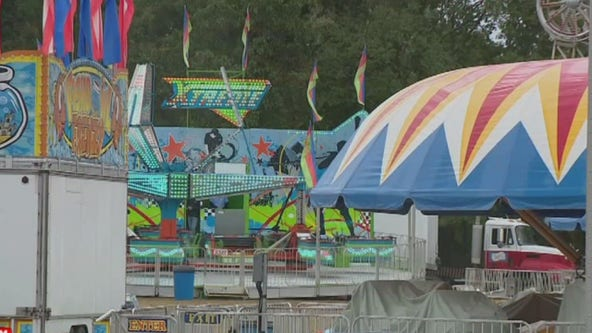 10-year-old dies after being thrown from festival ride