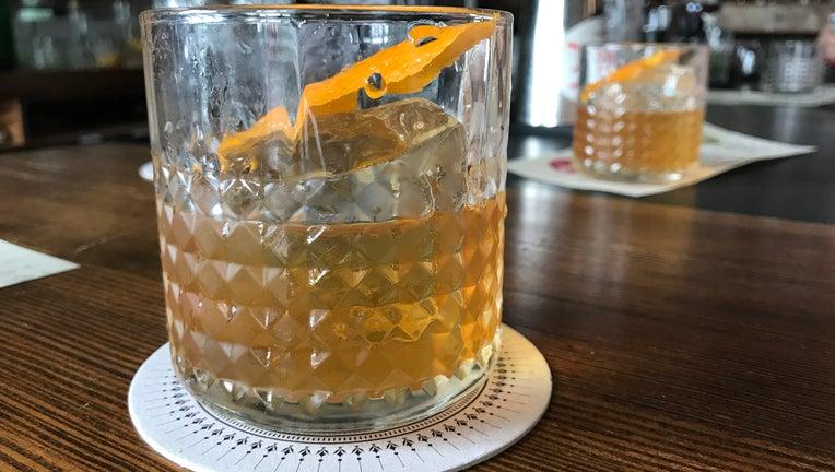 A highball glass