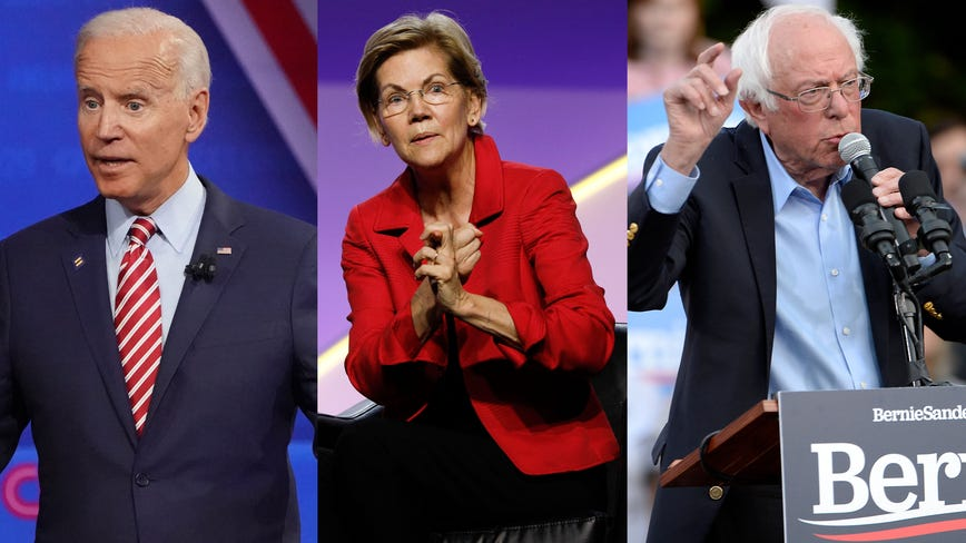 Biden, Warren, Sanders to face scrutiny Tuesday at Ohio Democratic debate