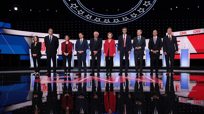 4th Democratic presidential debate kicks off