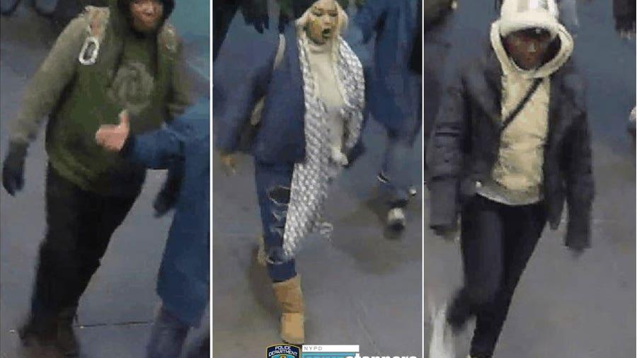 Women attack and rob man in Midtown Manhattan