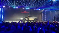 Tesla truck's 'armor glass' windows smash during unveiling