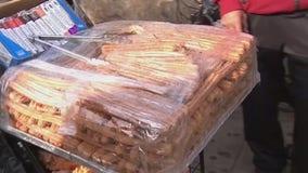 Handcuffed churro vendor speaks out