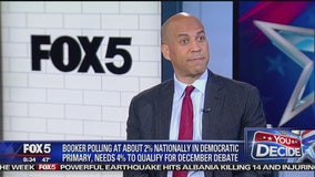 Sen. Cory Booker talks about low poll numbers