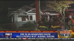 3 squatters killed in Queens house fire