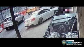 Shocking video shows BMW ram man and child in Harlem
