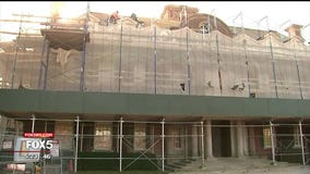 Renovation of historic Long Island mansion underway