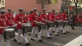 New York Veterans Day Parade draws thousands on a sunny day