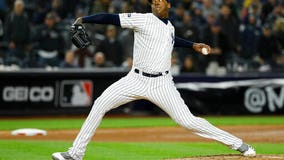 Chapman, Yankees agree to $48M, 3-year contract