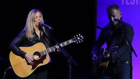 Sheryl Crow and Bruce Springsteen raise money for veterans