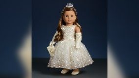 American Girl unveils $5K holiday doll covered in 5,000 Swarovski crystals