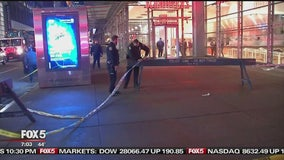 Police are trying to figure out why a violent brawl broke out in midtown Manhattan.