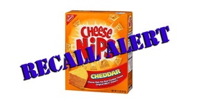 Cheese Nips products recalled due to risk of plastic contamination