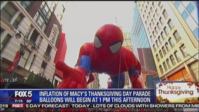 Will the giant parade balloons fly?