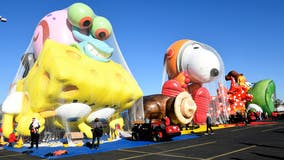 Macy's Thanksgiving parade balloons already tested in flight