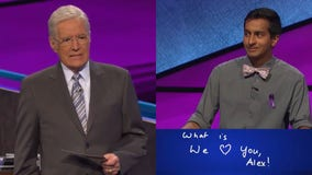 'We love you, Alex': Alex Trebek gets choked up at 'Jeopardy!' contestant's touching answer