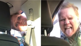 Bizarre road rage incident with angry mom dubbed 'Kidz Bop Karen' goes viral
