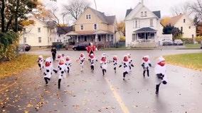 Watch: Pre-K students dressed as dalmatians run away from 'Cruella' teacher