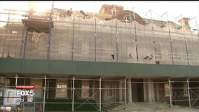 Renovation underway on historic Long Island mansion