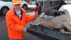 At age 104, Wisconsin woman bags her first buck