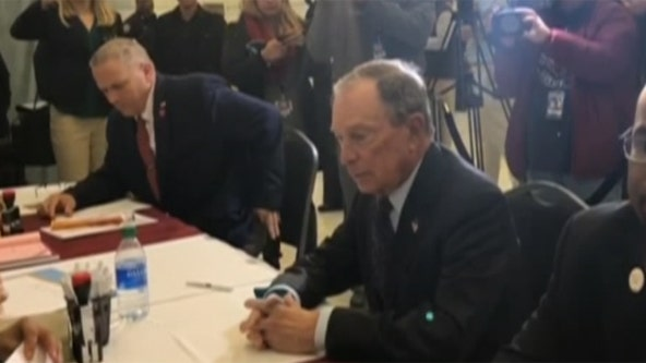 Bloomberg registers for presidential ballot in Arkansas