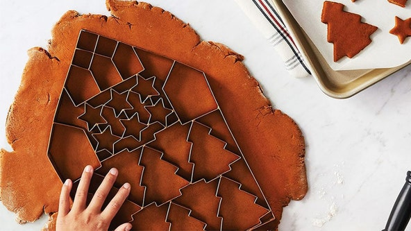 'It takes one press': You can make up to 24 holiday cookies at once with this giant cookie cutter