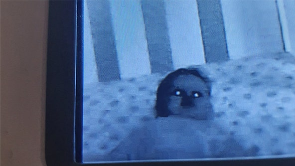 'Demon baby': Parents' terrifying baby monitor photo goes viral