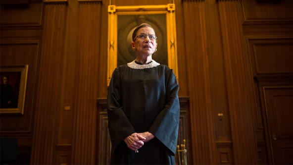 RBG absent from Supreme Court Wednesday, missing arguments due to illness