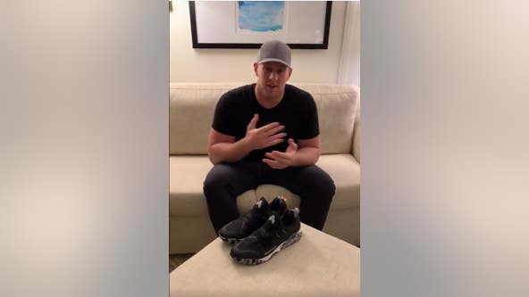 J.J. Watt honors late grandfather who served in Korean War, donates proceeds from his shoe to vets