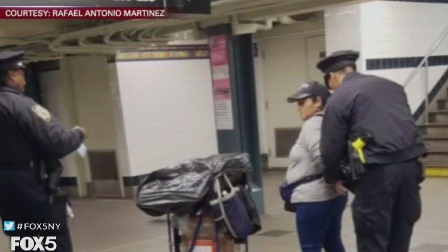 Another subway churro vendor handcuffed; mayor defends cops