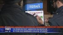 Arrest made in stabbing death of Barnard student