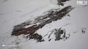 Avalanche hits ski trail in Switzerland