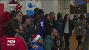 Hot 97 hosts holiday party for kids in the Bronx