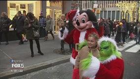 Costumed characters invade Rockefeller Center