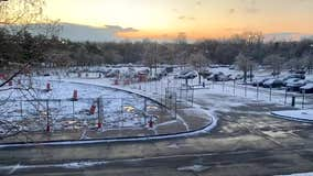 Snow squall sweeps through Westchester County (time-lapse video)